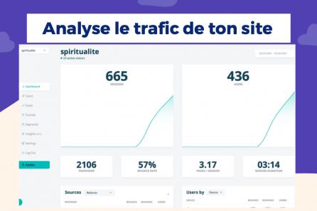 Analyser le trafic de son site internet et les conversions en quelques clics !