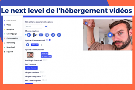 Héberger, personnaliser tes vidéos – Capturer des contacts (appels à l'action)