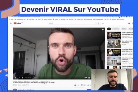 16.600 abonnés sur YouTube avec 2 vidéos ! Comment Devenir VIRAL