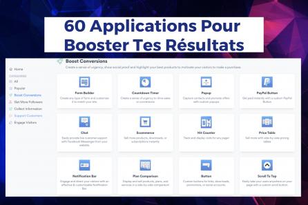 60 Applications Pour Capturer Des Contacts Et Optimiser Ton Site !
