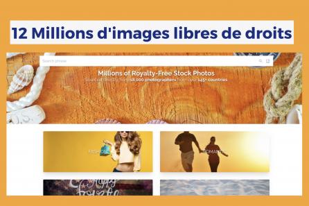 12 Millions de photos libres de droits avec accès à vie !