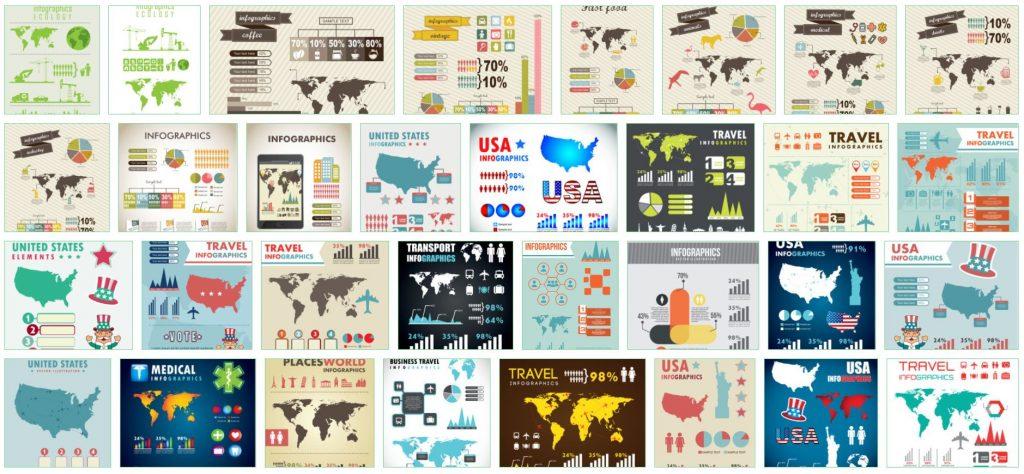 Infographies libres de droits