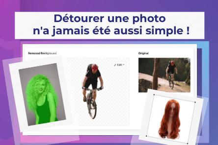 Détourer n'importe quelles photos sur un fond transparent ou coloré !