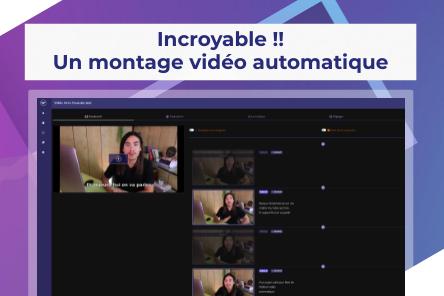 L'intelligence artificielle de cet outil édite tes vidéos !