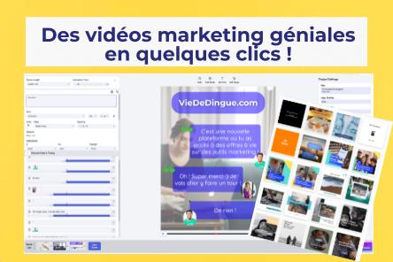 Créer facilement des vidéos marketing qui engagent ton audience !