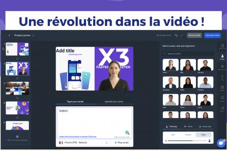 Créer des vidéos en faisant parler une intelligence artificielle à ta place  !