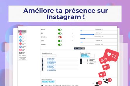 Augmenter ses abonnés et sa visibilité sur Instagram de façon ciblée