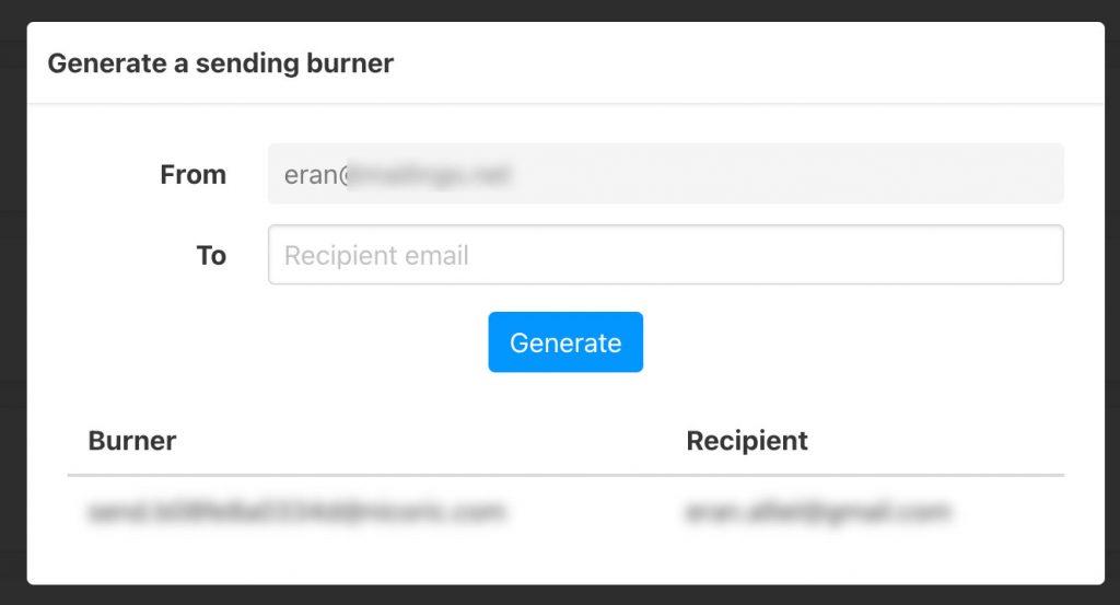 envoyer des e-mails de façon anonyme