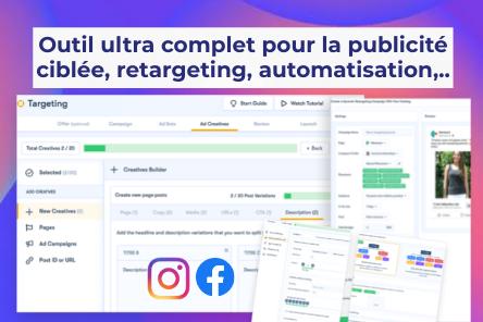 Optimiser ses publicités Facebook/Instagram et générer des nouveaux clients