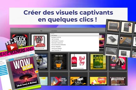 Réalise des visuels qui sollicitent les clics de ton audience !