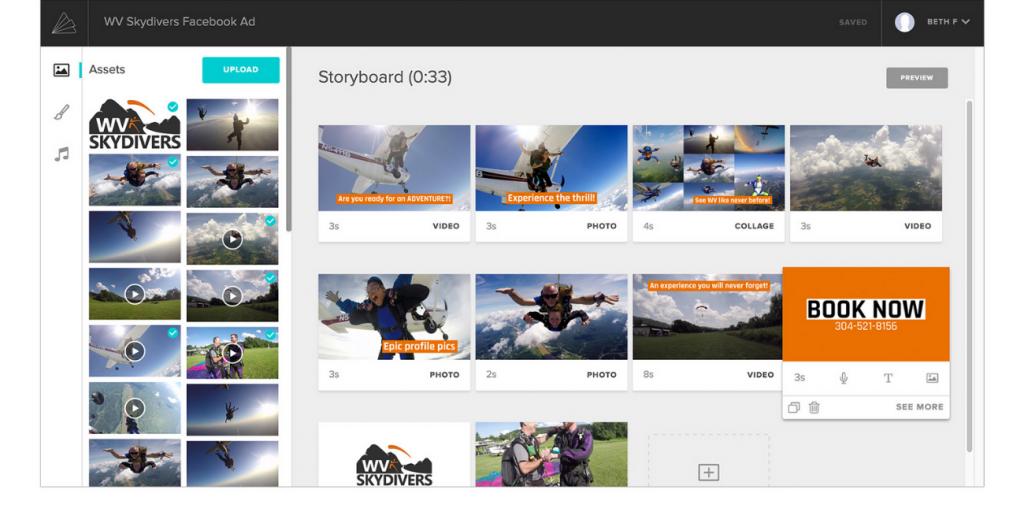 animoto logiciel de montage vidéo marketing