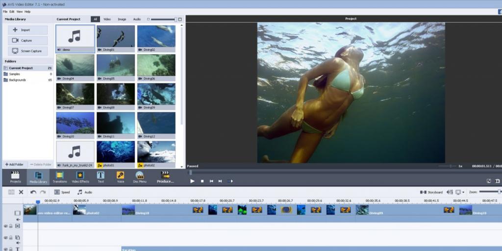 avs video editor logiciel de montage vidéo marketing