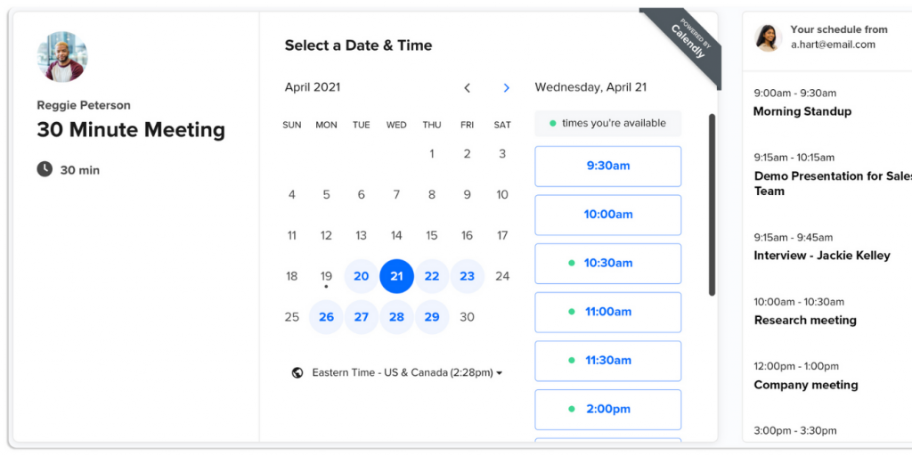 calendly outil marketing