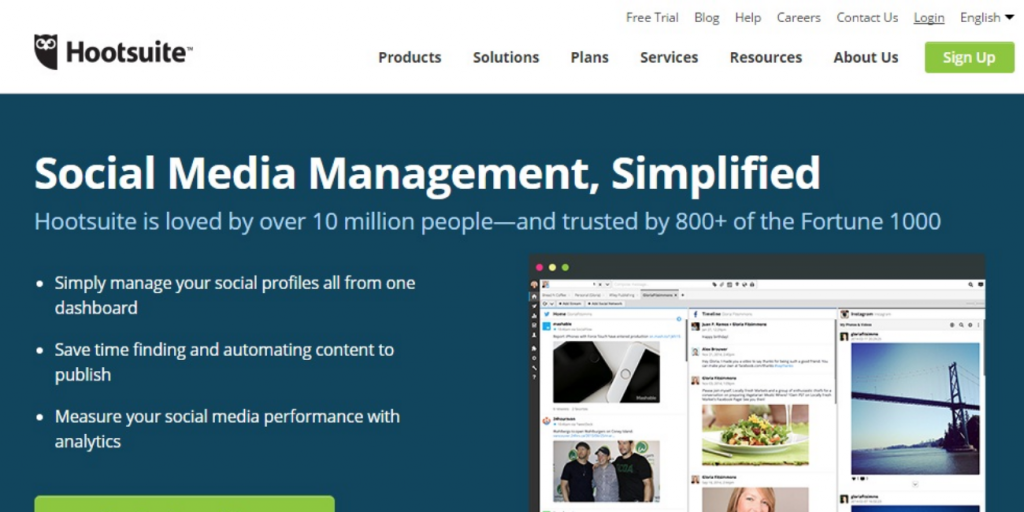 hootsuite outil marketing